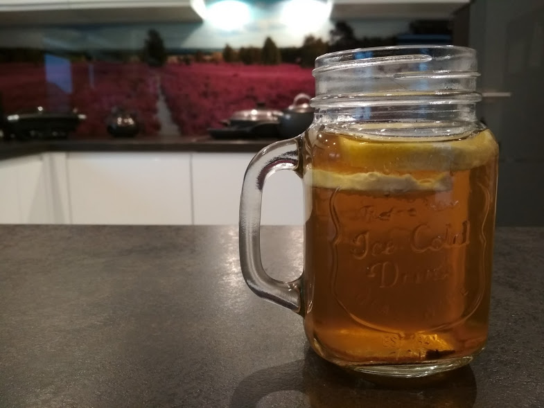 rozgrzewająca herbata jesienna