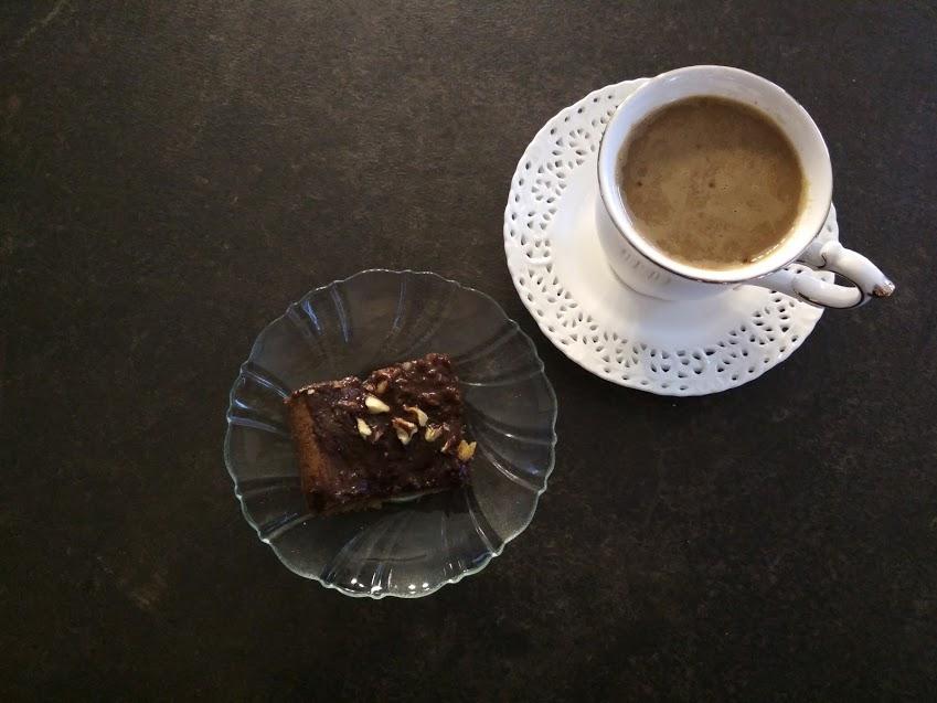 Dyniowe ciasto z czekoladą